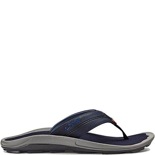 Pantofole Olukai Kipi - Mens Trench Blu / Trench Blu