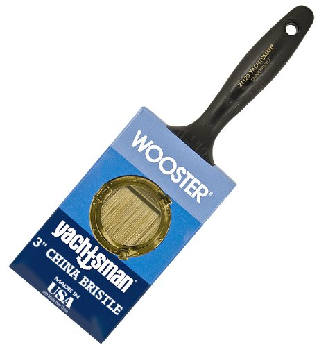 Bristle Brush China Paint (Wooster Brush Z1120-3 Yachtsman Paintbrush, 3-Inch)