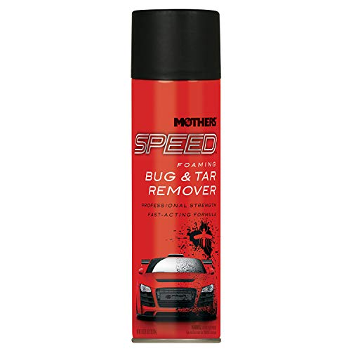 Mothers 16719 Speed Foaming Bug & Tar Remover Aerosol, 18.5 oz.