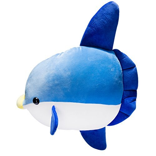 Fish Pillows Giant (LALA HOME Sunfish Stuffed Animal | 23.5'' Large Fish Plush | Way Soft Body Pillow | Large Ocean Toys for Kids)