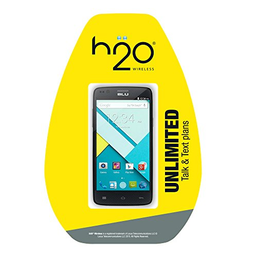 H2O Blu Star 4.5 No Contract Phone - Retail Packaging (H2...