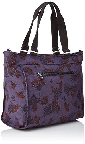 Kipling New Shopper L - Bolsos totes Mujer Varios colores (Floral Night)