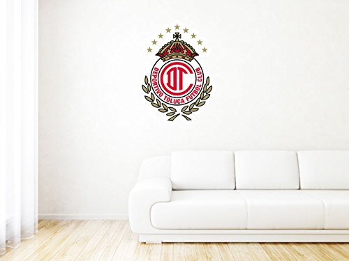 Deportivo Toluca FC - Mexico - High Quality Wall Graphic Decal - 26