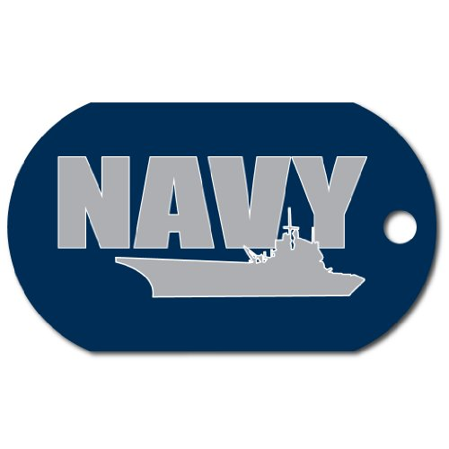 United States Navy Dog Tag - Support The United States Navy Today!