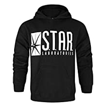 Official Flash TV STAR Laboratories Men's Hoodie (S)