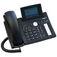 Snom 360 Black Business Phone with Speaker, Tilt Graphic Display, Poe, 47 Keys -