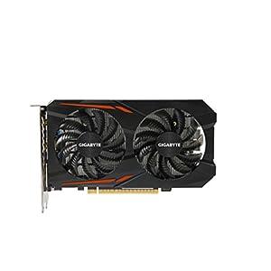 Gigabyte Geforce GTX 1050 Ti 4GB GV-N105TOC-4GD OC Graphic Cards Black