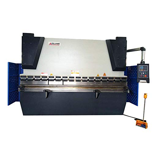 AOXUAN WC67K NC CNC Hydraulic Sheet Metal Press Brake Bending Machine,63Ton Pressure,7.5hp Motor,98 Inches from AOXUAN