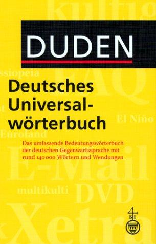 Duden Deutsches Universalwörterbuch, m. CD-ROM