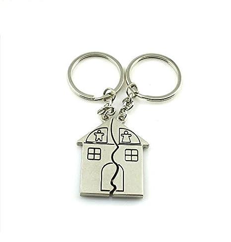 Llavero magnético en forma de casa para parejas de Zhjz ...