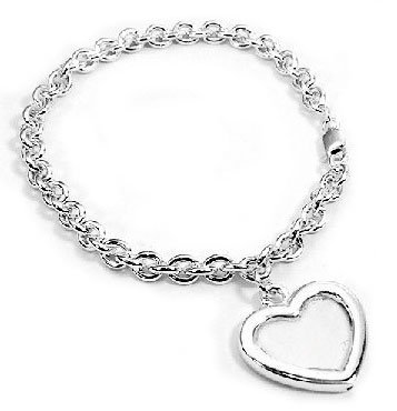 Amazon.com: Sterling Silver Picture Frame or Locket Photo Holder on ...