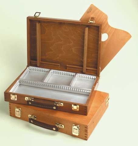 Mabef Beechwood Sketch Box #101- Medium 10 x 14 Inches
