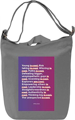 Jeff Bezos quote Borsa Giornaliera Canvas Canvas Day Bag| 100% Premium Cotton Canvas| DTG Printing|