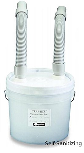 Buffalo Trap-Eze SS Self-Sanitizing Trap 3.5 gallon Complete Kit Sanitrap1