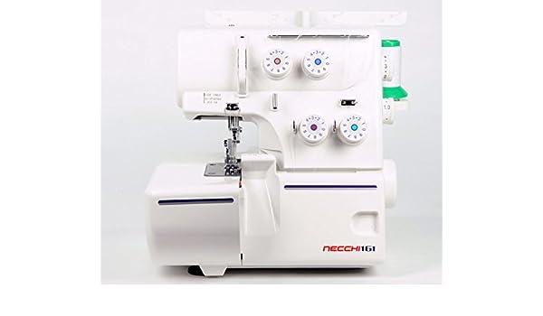Necchi Lock 161 - Máquina remalladora: Amazon.es: Hogar