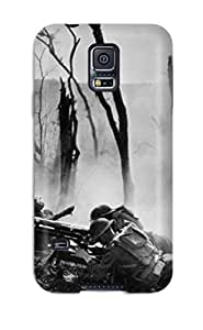 Galaxy S5 Case Bumper Tpu Skin Cover For Photography Black And White Accessories