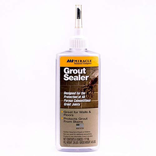 Miracle Sealants GRT SLR 6-Ounce Grout Sealer, 6-Ounce