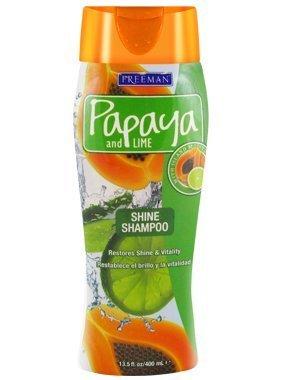 Freeman Papaya and Lime Overboard Shine Shampoo 13.50 oz (Pack of 3) (Freeman Papaya)