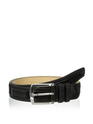 [Mezlan Men's 9336 Belt Black 44