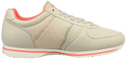 Le Coq Sportif Bolivar W Dots Damen Low-Top Grey (Gray Morn/Fiery Coral)