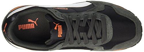 Puma ST Runner NL Jr - zapatilla deportiva de material sintético infantil blanco y negro