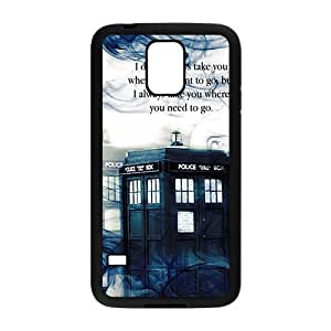 Tardis Doctor Who Smoke Picture Print In Hard Case For Samsung Galaxy S5