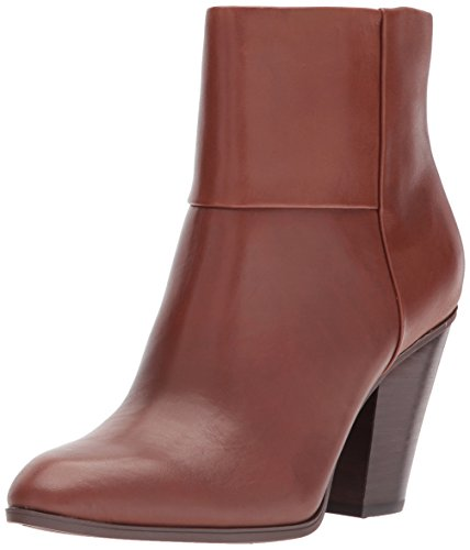 Nine West Shoes Boots (Nine West Women's Hollie Leather Ankle Boot, Natural Leather, 8 M US)
