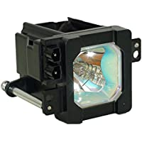 SpArc Bronze JVC HD-61G887 Television Replacement Lamp with Housing