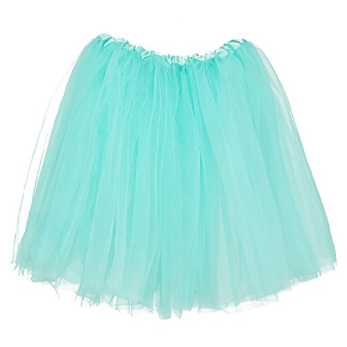 My Lello Big Girls Tutu 3-Layer Ballerina (4T-10yr) Aqua ()