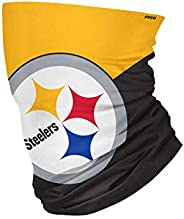 Pittsburgh Steelers NFL Big Logo Gaiter Scarf