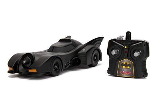 Jada 30331 Hollywood Rides DC Comic Batman 1989 Batmobile RC Radio Control Toy Vehicle (Control Remote Batman)