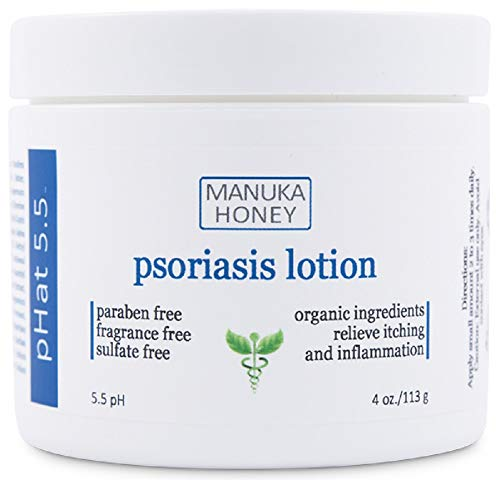Cream for Psoriasis - Anti Itch Treatment to Relieve Psoriasis Symptoms Like Dry Patches, Flakes, Rash and Scales - With Coconut Oil For Itch Relief (4 oz)
