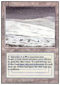 Magic: the Gathering - Tundra - Revised ()