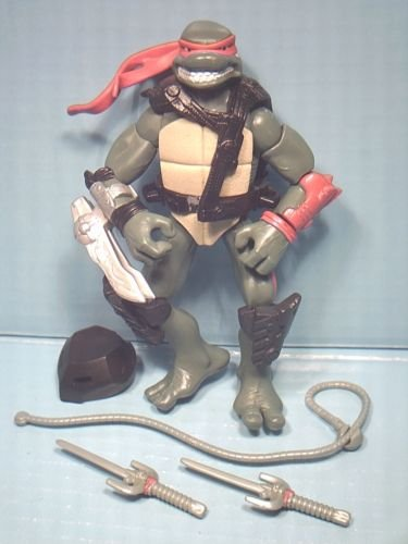 Teenage Muntant Ninja Turtles Alien Hunter Raphael TMNT Action Figure Age 5 Up