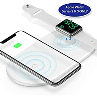 Amazon.com: ATETION - Cargador inalámbrico para Apple Watch ...