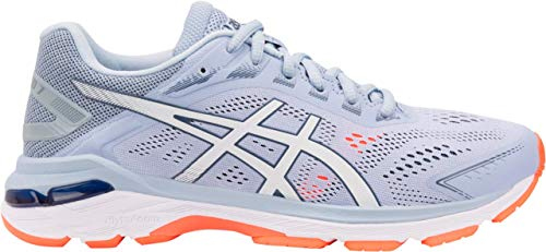 (ASICS GT-2000 7 Women's Running Shoe, Mist/White, 10 M US)