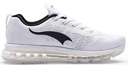 Sneakers Black Running Outdoor Cushion Shoes white Casual Air Lightweight Sport B Womens ONEMIX wqT17zgx