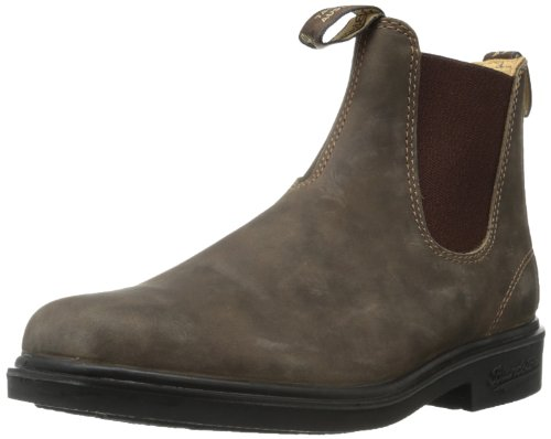 Blundstone Unisex Dress Series, Rustic Brown, 9 M US Men's/11 M US Women's -8 AU ()