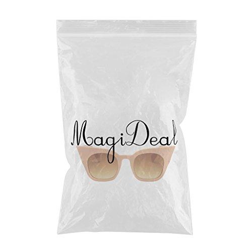 de Magideal Marco beige Plástico lente UV400 Moda Ojos gris Lente Mujer Gradiente de de Gato Hombre té Sol Marco Gafa de marco para Protección rojo ZtSrxqZ