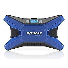 KOBALT Electric Portable Air Compressor 120 PSI 12 Volt & 120 Volt Tire Inflator by Kobalt