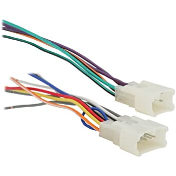 41YHBDk%2BCkL._SL500_AC_SS350_ amazon com metra 70 1817 radio wiring harness for chrysler jeep metra 70-6502 receiver wiring harness at bayanpartner.co