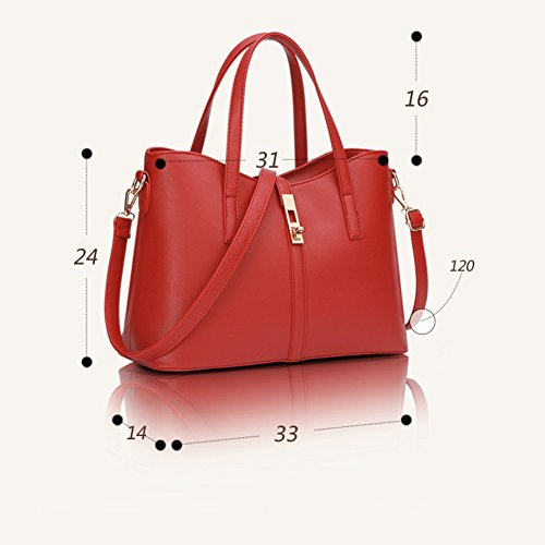 Of B Three Shoulder Capacity Sets Handbags Bags For Crossbody Bags Women Handbag High FwxZw57q