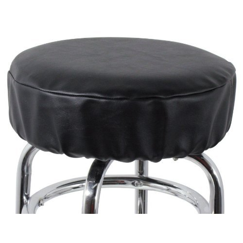 Royal Industries Bar Stool Cover , Vinyl, 15 fits Stand Bar Stool, Black, Commercial Grade by Royal Industries, Inc.