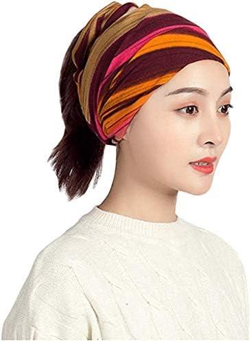 GKLSD 女性のバンダナヘッドスカーフ綿バンダナ多機能ヘッドスカーフ
