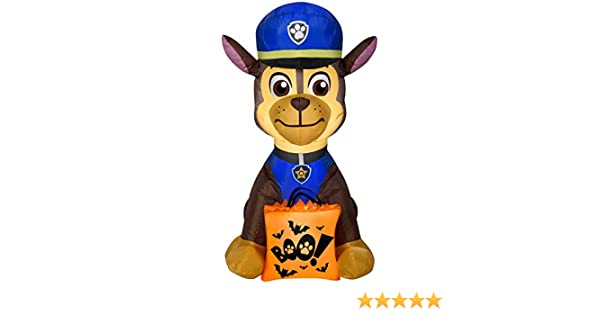 Halloween Airblown Inflatable Marshall with Treat Sack 4FT tall by Gemmy Industries