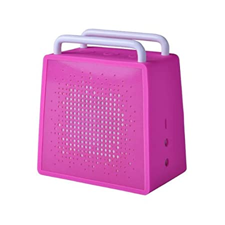 Antec AMP SPZero Portable Wireless Bluetooth Speaker & Speakerphone (Pink) Speakers at amazon