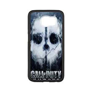 DIY Printed Call of Duty hard plastic case skin cover For Samsung Galaxy S6 SNQ090841