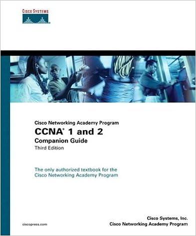 Download Cisco Networking Academy Program : CCNA 1 and 2 companion