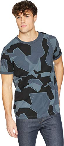 - Fred Perry Men's Camouflage Ringer T-Shirt Airforce Camo Small