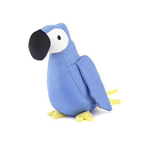 BecoThings Lucie The Parrot Plush Toy for Dogs (PACK OF 6) by BecoThings